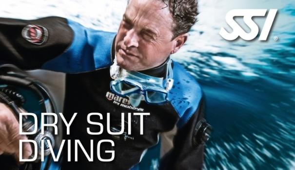 Dry Suit Diving Torrdräkt